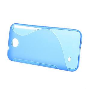 Gelové S-line pouzdro pro HTC Desire 300 Zara mini-modré - 2