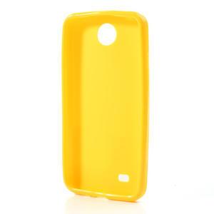 Gelové pouzdro pro HTC Desire 300 Zara mini -žluté - 2