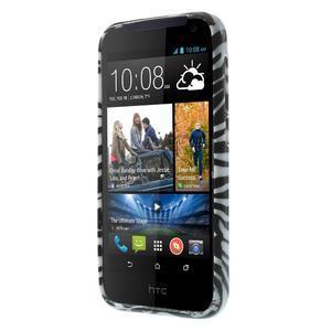 Gelové pouzdro na HTC Desire 310- zebrované - 2