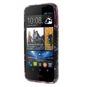 Gelové pouzdro na HTC Desire 310- motýlci - 2