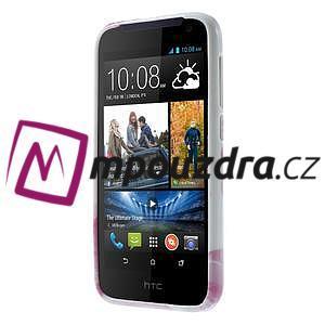 Gelové pouzdro na HTC Desire 310- dvě srdce - 2