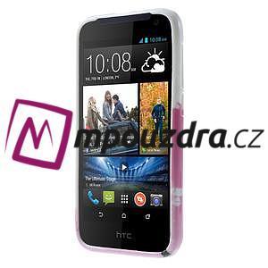 Gelové pouzdro na HTC Desire 310- kvetoucí větvička - 2
