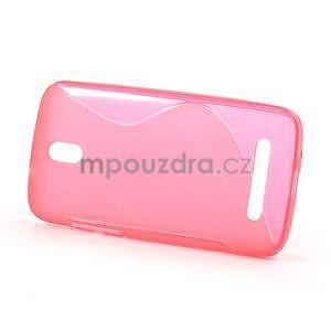 Gelové pouzdro pro HTC Desire 500- růžové - 2