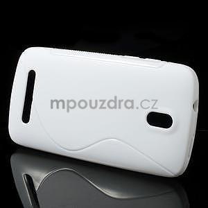 Gelové pouzdro pro HTC Desire 500- bílé - 2