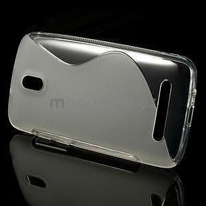 Gelové pouzdro pro HTC Desire 500- transparentní - 2