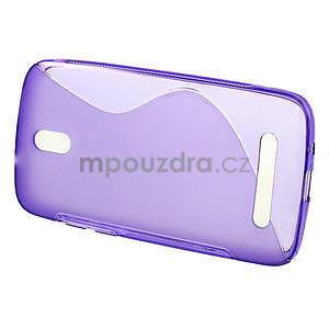 Gelové pouzdro pro HTC Desire 500- fialové - 2
