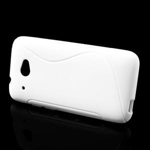 Gelove S-line pouzdro pro HTC Desire 601- bílé - 2
