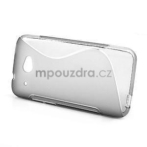 Gelove S-line pouzdro pro HTC Desire 601- šedé - 2