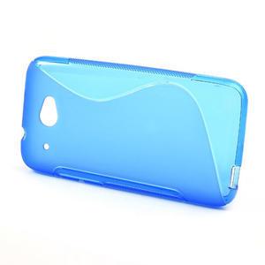 Gelove S-line pouzdro pro HTC Desire 601- modré - 2