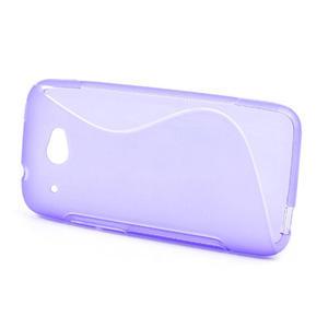 Gelove S-line pouzdro pro HTC Desire 601- fialové - 2