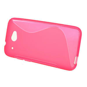 Gelove S-line pouzdro pro HTC Desire 601- růžové - 2