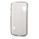 Matné gelové pouzdro pro LG Optimus L5 Dual E455- šedé - 2/4