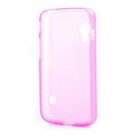 Matné gelové pouzdro pro LG Optimus L5 Dual E455- růžové - 2/4