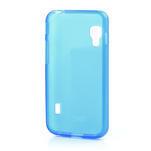 Matné gelové pouzdro pro LG Optimus L5 Dual E455- modré - 2/4
