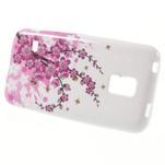 Gelové pouzdro na Samsung Galaxy S5 mini G-800- kvetoucí větvička - 1/4