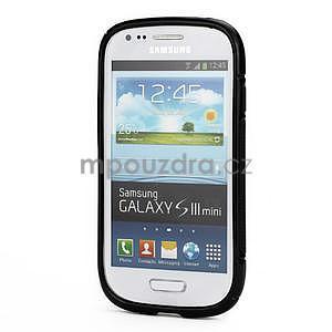 Černé gelové pouzdro pro Samsung Galaxy S3 mini / i8190 - 2