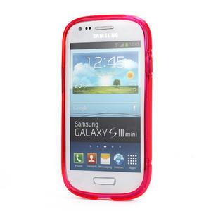 Růžové gelové pouzdro pro Samsung Galaxy S3 mini / i8190 - 2