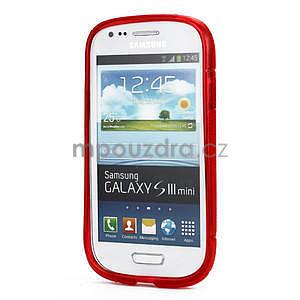 Červené gelové pouzdro pro Samsung Galaxy S3 mini / i8190 - 2