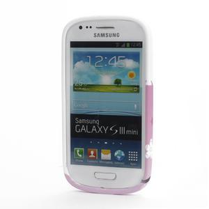 Gelové pouzdro pro Samsung Galaxy S3 mini i8190- květiny - 2