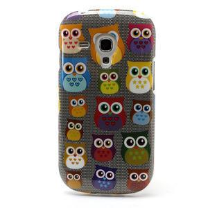 Gelové pouzdro pro Samsung Galaxy S3 mini / i8190 - mini Sovy - 2