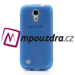 Gelové X pouzdro pro Samsung Galaxy S4 mini i9190- modré - 2