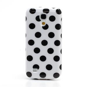 Gelový Puntík pro Samsung Galaxy S4 mini i9190- bílé - 2