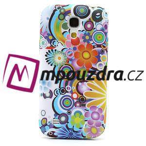 Gelové pouzdro pro Samsung Galaxy S4 mini i9190- barevné květy - 2