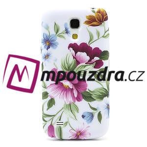 Gelové pouzdro pro Samsung Galaxy S4 mini i9190- květinka - 2
