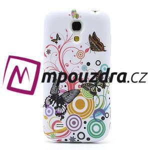 Gelové pouzdro pro Samsung Galaxy S4 mini i9190- kruhový motýl - 2