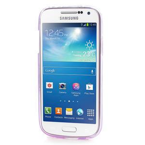 Gelové pouzdro na Samsung Galaxy S4 mini i9190- fialové - 2