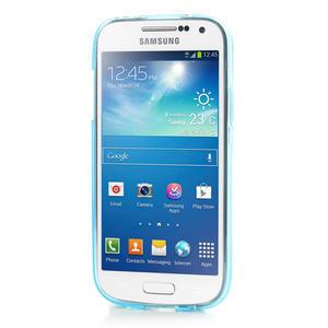 Gelové pouzdro na Samsung Galaxy S4 mini i9190- modré - 2