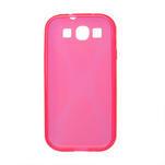 Gelové pouzdro pro Samsung Galaxy S3 i9300 - X-line růžové - 2/2