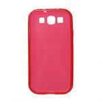 Gelové pouzdro pro Samsung Galaxy S3 i9300 - X-line červené - 2/2