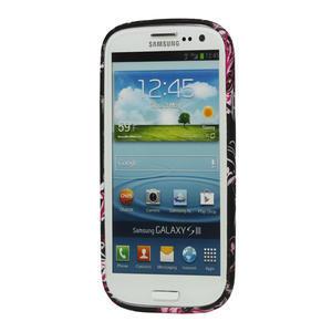 Gelové pouzdro pro Samsung Galaxy S3 i9300 - MOTÝL - 2