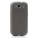 Gelové rámované pouzdro na Samsung Galaxy S3 i9300- šedé - 2/7