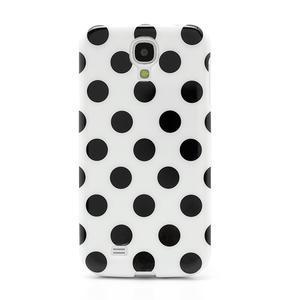 Gelové Puntík pouzdro na Samsung Galaxy S4 i9500- bílé - 2