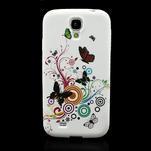 Gelové pouzdro pro Samsung Galaxy S4 i9500- motýl color - 2/5