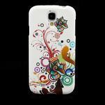 Gelové pouzdro pro Samsung Galaxy S4 i9500- barevná květina - 2/7