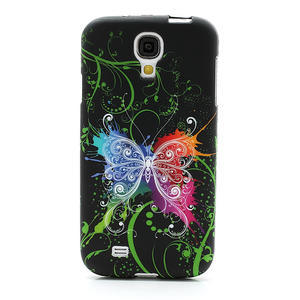 Gelové pouzdro pro Samsung Galaxy S4 i9500- barevný motýl - 2
