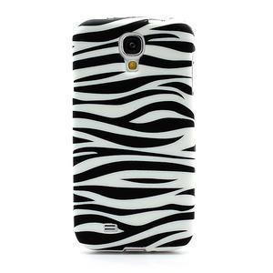 Gelové pouzdro pro Samsung Galaxy S4 i9500- zebra - 2