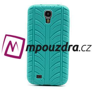 Gelové PNEU pouzdro pro Samsung Galaxy S4 i9500- zelené - 2
