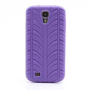 Gelové PNEU pouzdro pro Samsung Galaxy S4 i9500- fialové - 2