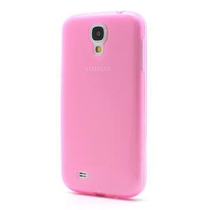 Gelové slim pouzdro na Samsung Galaxy S4 i9500- růžové - 2