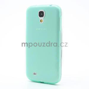 Gelové slim pouzdro na Samsung Galaxy S4 i9500- zelené - 2