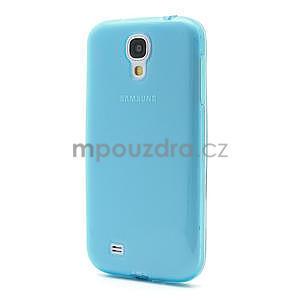 Gelové slim pouzdro na Samsung Galaxy S4 i9500- modré - 2