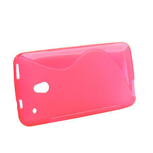 Gelové S-line pouzdro pro HTC one Mini M4- růžové - 2