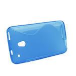 Gelové S-line pouzdro pro HTC one Mini M4- modré - 2/4