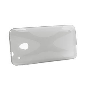 Gelové X-line pouzdro pro HTC one Mini M4- šedé - 2