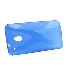 Gelové X-line pouzdro pro HTC one Mini M4- modré - 2