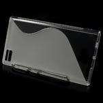 Gelové S-line pouzdro na Xiaomi Mi3- transparentní - 2/5